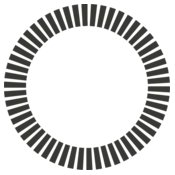 Simple Shapes 19   Circle of Dashes