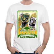 Team Australia Ice Hockey NWT Under 18 Action T-Shirt